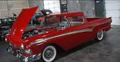 1957 ford ranchero | Video: One of a Kind Supercharged 1957 Ford Ranchero