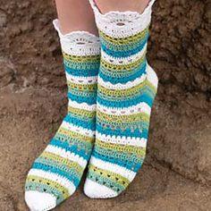 i will make these longer and make them boot crochet socks