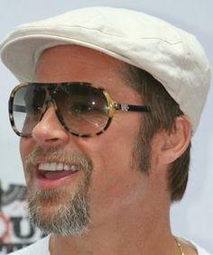 Brad Pitt in Versace!~