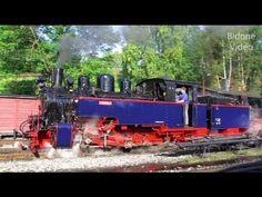 Aquarius C dampft im Erzgebirge - Dampflok - steam train - Zug. Geüpload op 14 sep. 2011, Am 10. und 11.September 2011 fuhr die Heeresfeldbahn Lok Hf 210 E, die kurz vor Kriegsbeginn 1939 von der Firma Borsig gebaut wurde, auf der Strecke der Preßnitztalbahn zwischen Jöhstadt und Steinbach.