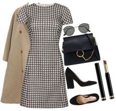 Glamouröse Outfits, Polyvore Outfits, Classy Outfits, Trendy Outfits, Fall Outfits, Fashion Outfits, Summer Outfits, Polyvore Dress, Work Fashion