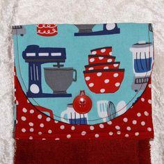 3 Piece Kitchen Gift Set Hanging Hand Towel by GreenAcornKitchen