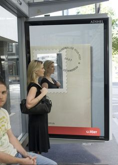 24 Unique Examples of Creative Bus Stop Advertising Guerrilla Marketing Photo