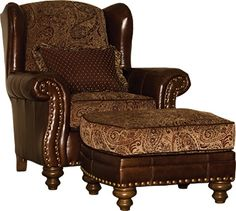 Awesome Mayo Furniture 323 Leather/Fabric Chair And ... | Mayo Leather And Le ...  Idea For The Living Room Corner