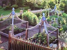 A potager is the French term for an ornamental vegetable or kitchen #garden. This design is to provide a #garden of abundance in an aesth...