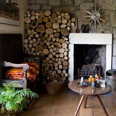 Fireplace | Quirky four bed terraced house | PHOTO GALLERY | Ideal Home | housetohome