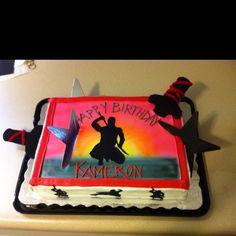 Kams ninja cake