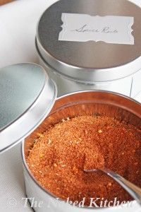 Homemade Spice Rub | The Naked Kitchen