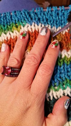 Love my Christmas Jamberry Wraps. I got to put them back on my nails and I so much Love Jam's my Buddies! What I have here is Snow Day and Seasons Bright. Makes my Christmas Ring shine BRIGHT! By OpenNailRoom Salon.