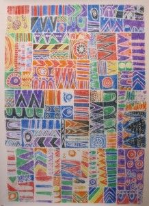 Collaborative Quilt from Zamorano Fine Arts Academy, link below: