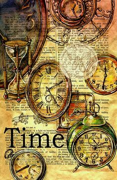 preciousthingsandplaces:  gatsbywise:  Unique art work related to time -   Time