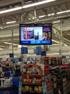 Photo on IMVINET - Digital Signage - Señalizacion Digital: La revolución de la carteleria digital en Walmart