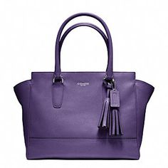This is more like it....purple bag - Coach.