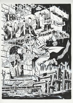 The Spirit splash - Darwyn Cooke
