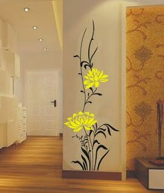 Simple and elegant wall decal