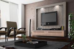 rack, painel, tv, decoração, modelo, madeira, moderno