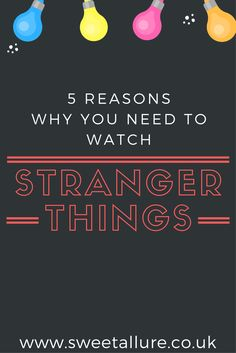 Love The Stranger Things Netflix Original Series? Here are 5 reasons why you should be watching it!  Eleven, madmax