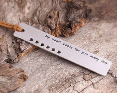 Personalized Bookmark   Engraved Bookmark  My by aimeehandmade