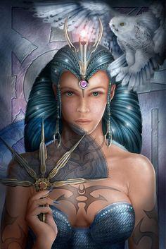 Art for the Queen of Swords • Ciro Marchetti