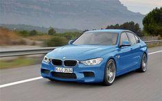 Blue BMW F30