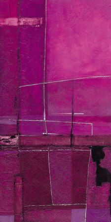 My Purple Views I.I want to make my own Purple Views. Magenta, Shades Of Purple, Monochrome Painting, Purple Art, Waves, Color Rosa, Violet, Artsy Fartsy, Color Inspiration