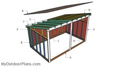 Best Building A Shed Roof Building A Shed Roof - This Best Building A Shed Roof design was upload on July, 29 2019 by Cleveland Koch. Here latest Building A Shed Roof design co. Small Shed Plans, Lean To Shed Plans, Diy Shed Plans, Storage Shed Plans, Flat Roof Shed, Building A Shed Roof, Run In Shed, House Building, Building Ideas