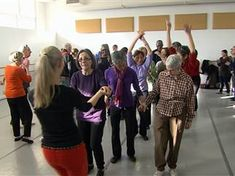 For Parkinson's patients, dancing may relieve symptoms and improve quality of life.