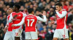 Arsenal see off Middlesbrough in FA Cup thanks to Olivier Giroud double Manchester City, Manchester United, England Fa, Team Goals, French Man, Middlesbrough, Retro Shirts, Old Trafford, Fa Cup