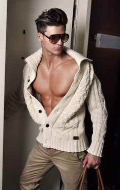 Cardigan - men's fashion style ..