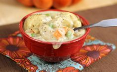 Have you ever wished you could have homemade chicken and dumplings in a snap?  Well, now you can.A long, long time ago in the fall that I met my husband he expressed how much he loved chicken and dumplings. He told me that he especially loved the dish this time of year. Then he took [...]
