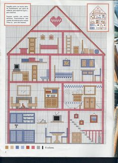 Just Cross Stitch Patterns (p. 40) | Learn crafts is facilisimo.com