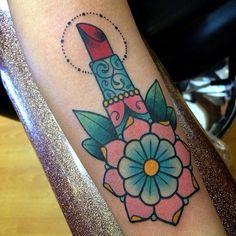lipstick tattoos