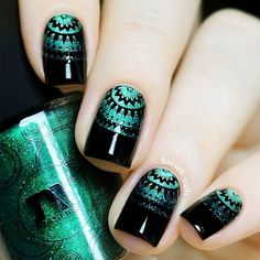 You will love our ideas of trendy black nails! No doubts, that black is a classic color. Black manicure is elegant and modern at the same time. Check out our collection and find new ideas for your manicure! #blacknails #blacknaildesigns #blacknailideas
