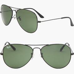 RAY BAN AVIATOR 3025 Sonnenbrille - Schwarz  55mm 58mm 62mm  (58mm Mittel) 819ef6e99ac4