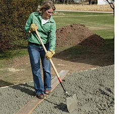 how to lay a diy concrete patio | outdoors | pinterest | diy ... - Diy Concrete Patio Ideas