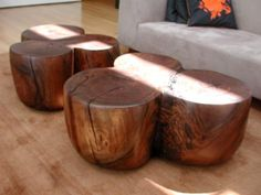 ONE-OF-A-KIND COFFEE TABLES BY ALMA ALLEN