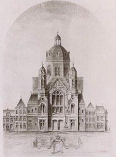De 19de eeuwse Cyriacus- en Franciscuskerk
