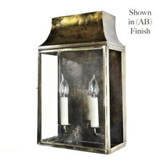 Strathmore Small Flush Outdoor Wall Lantern Light Antique Brass: Elegant clear glazed wall lantern, constructed of solid brass. This lamp will not rot Outdoor Wall Lantern, Hanging Lanterns, Outdoor Wall Lighting, Exterior Lighting, Outdoor Walls, Lighting Ideas, Carriage Lights, French Walls, Light Fittings