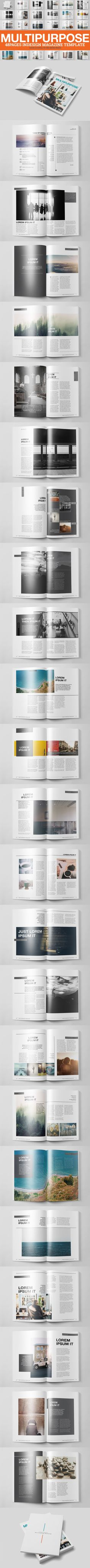 Multipurpose Magazine 2 Template by h.utomo on @creativework247