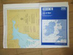 Admiralty Chart 1826 Irish Sea Eastern Part and Imray Y70 Isle of Man.