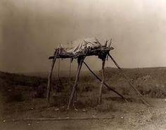 Choctaw burial