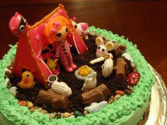 Quicky Mini Lalaloopsy cake I made for a friend. #Lalaloopsy