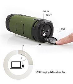 See Me Here BV350 Sport Outdoor Bluetooth Speaker Portable Speaker with 6W Strong Speaker Driver and Passive Bass Radiator Hook Included Green   See Me Here BV350 Sport Outdoor Bluetooth Speaker Portable Speaker with 6W Strong Speaker Driver and Passive Bass Radiator Hook Included Green   See Me Here  See Me Here is one leading manufacturer of Bluetooth speaker for years,we focus on providing audio product with excellent voice performance.Our products mostly are wireless bluetooth sp..