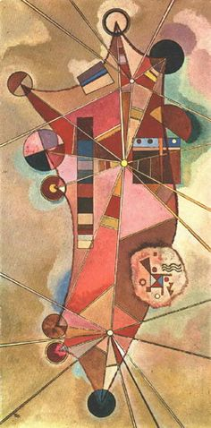 Painter Wassily Kandinsky. No name. 1929