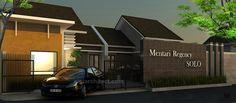 Desain Perumahan Kecil Minimalis & Siteplan, dengan type rumah ukuran sedang dan kecil, masing2 tampak depan rumah didesain simpel minimalis
