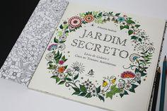 livro jardim secreto johanna basford   Um livro para colorir: Jardim Secreto   Johanna Basford