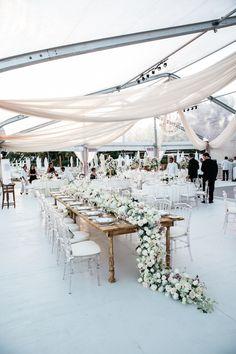 Outdoor Tent Wedding ❤️