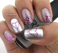 Mani Monday: Glitter Ombre Valentine's Day Nails | Salon Fanatic