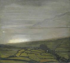 The Hill above Harlech by William Nicholson, c. 1917