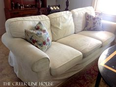 Slipcover Sofas For Sale